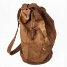 brown canvas rucksack unisex crow dunnage