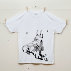 "crow and dunnage ""doberman"" tshirt"